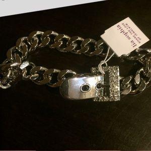 Lia Sophia belt buckle bracelet